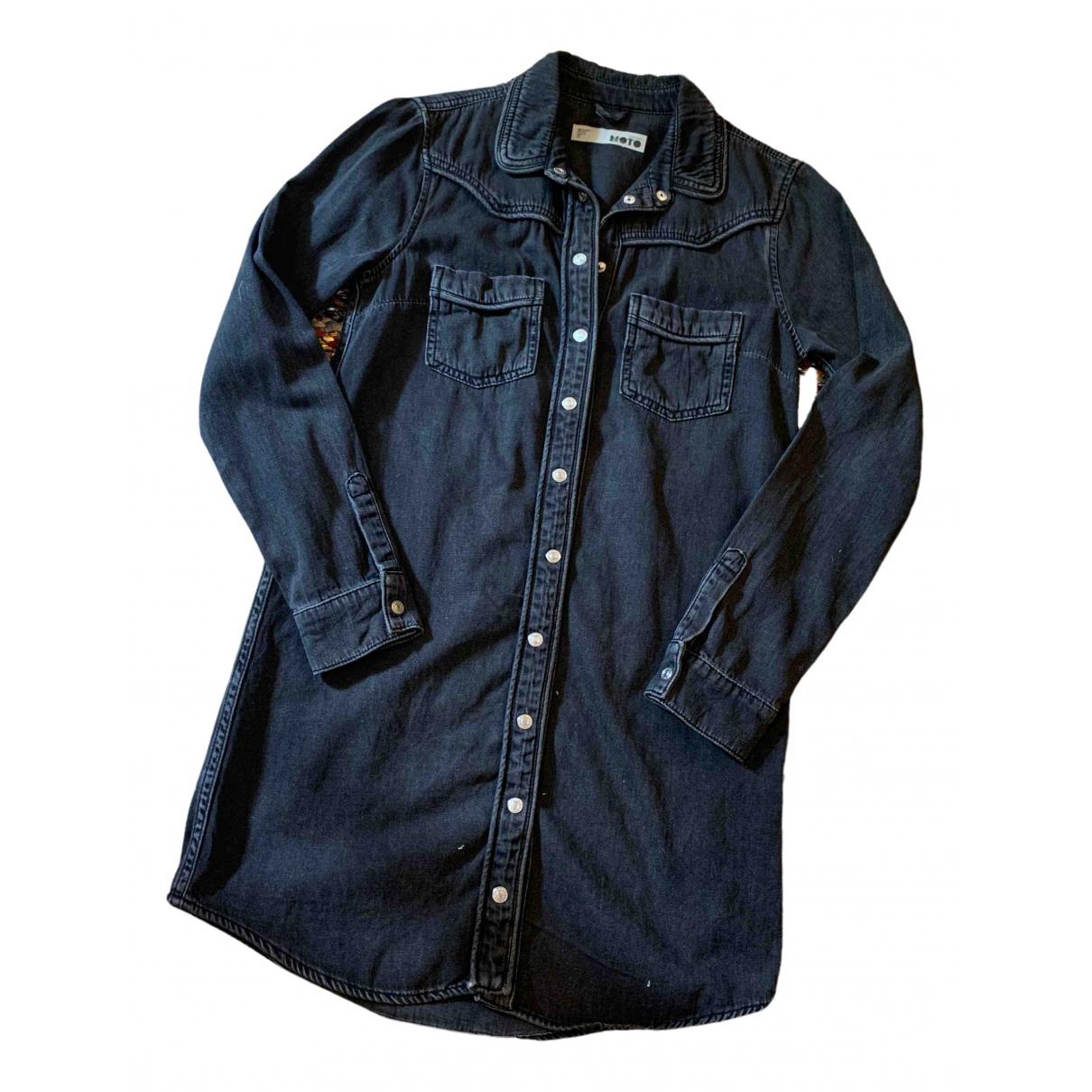 Tophop \N Kleid in  Schwarz Denim - Jeans