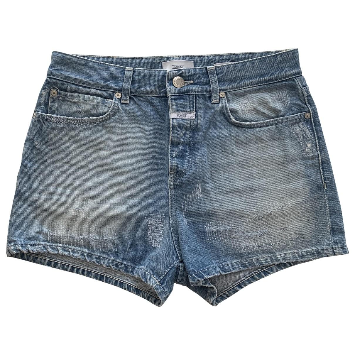 Closed \N Shorts in  Blau Denim - Jeans
