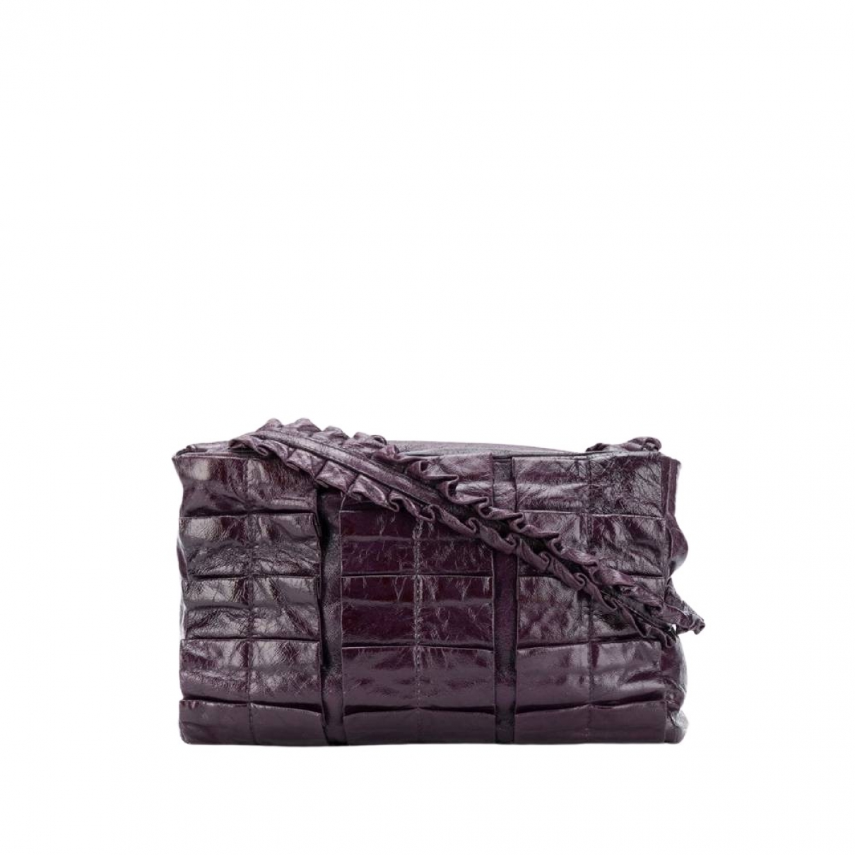 Miu Miu \N Handtasche in  Lila Leder