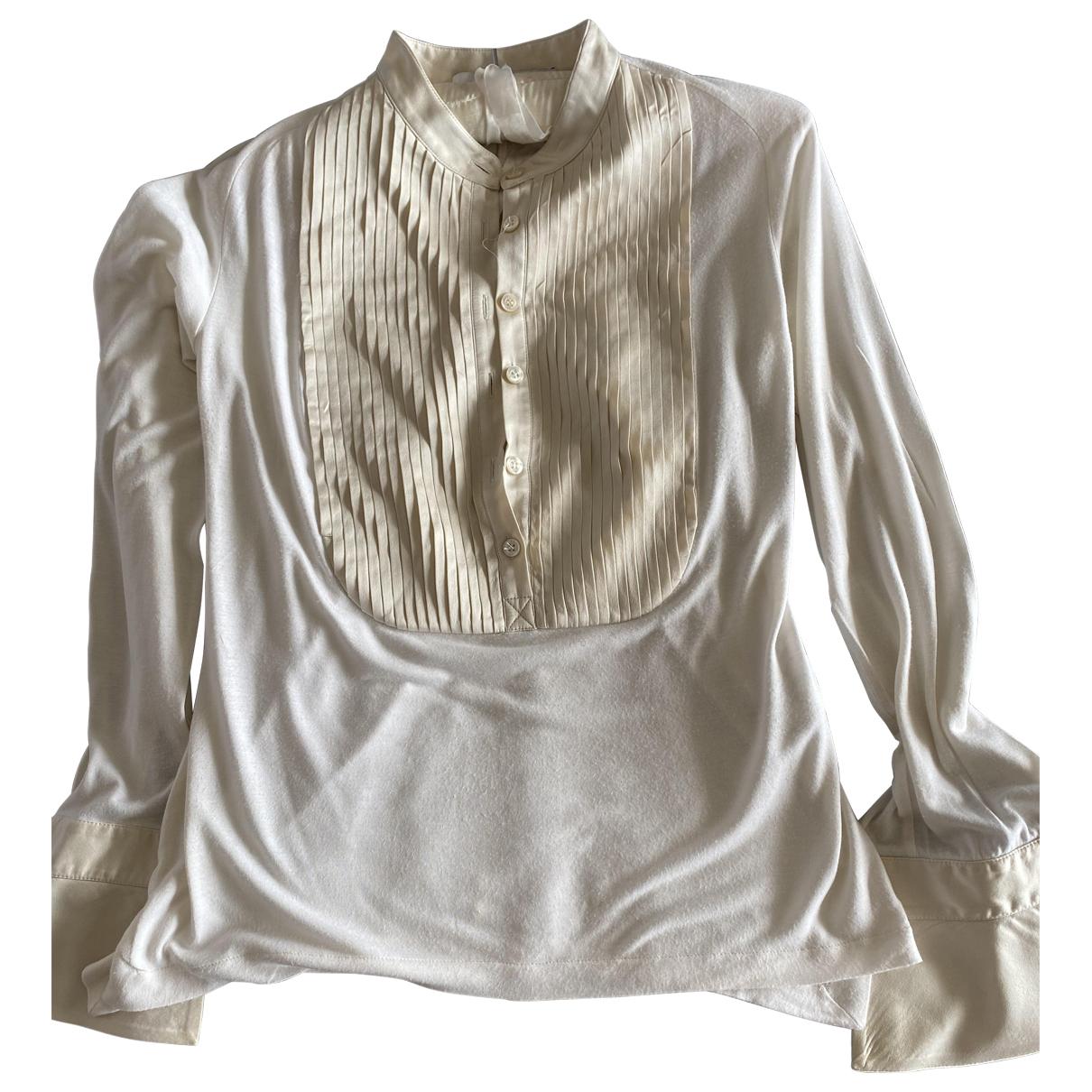 Givenchy - Top   pour femme - ecru
