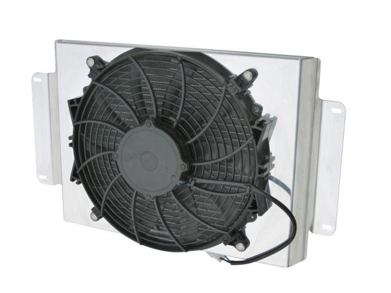 AFCO 80104NFAN Aluminum Satin Fan Shroud Sirocco