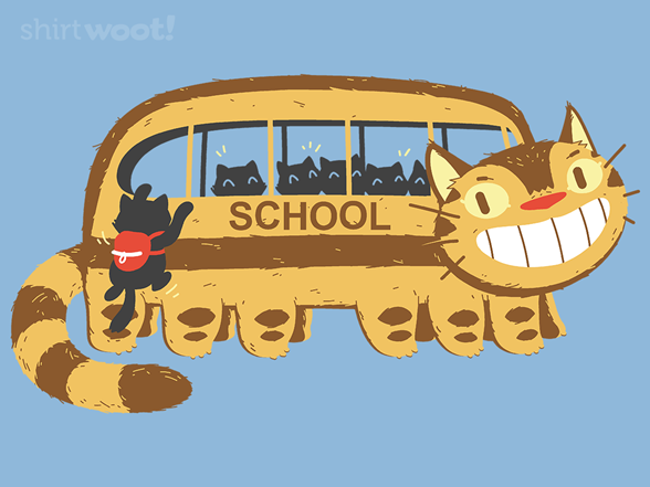 Schoolcatbus T Shirt