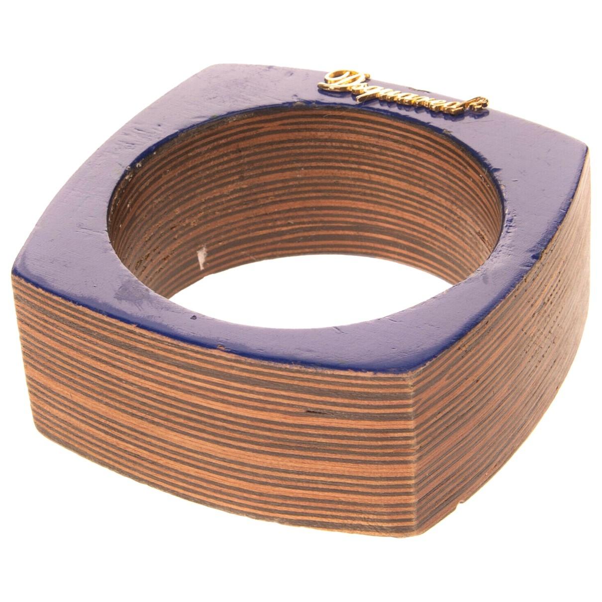 Dsquared2 - Bracelet   pour femme en bois - bleu