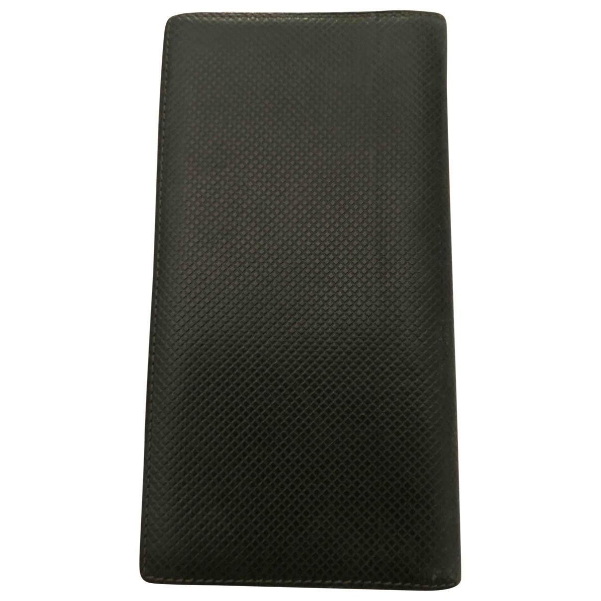 Bottega Veneta \N Green Leather Purses, wallet & cases for Women \N