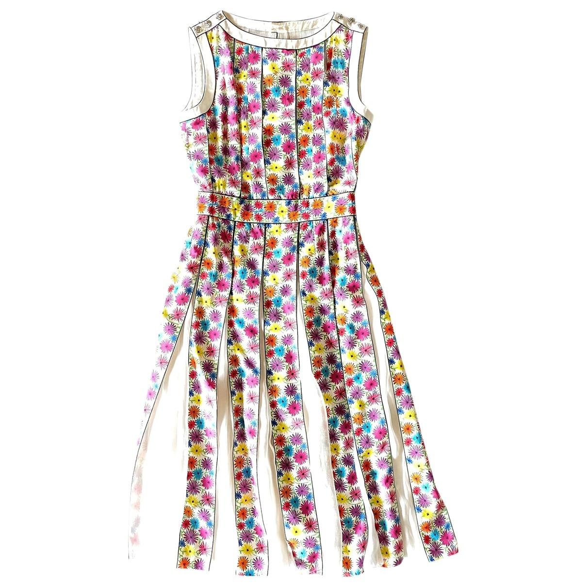 Chanel \N Kleid in  Bunt Seide