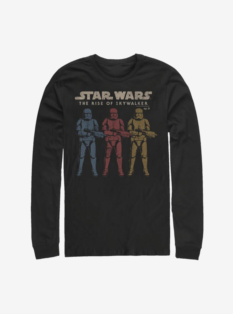 Star Wars Episode IX The Rise Of Skywalker Color Guards Long-Sleeve T-Shirt