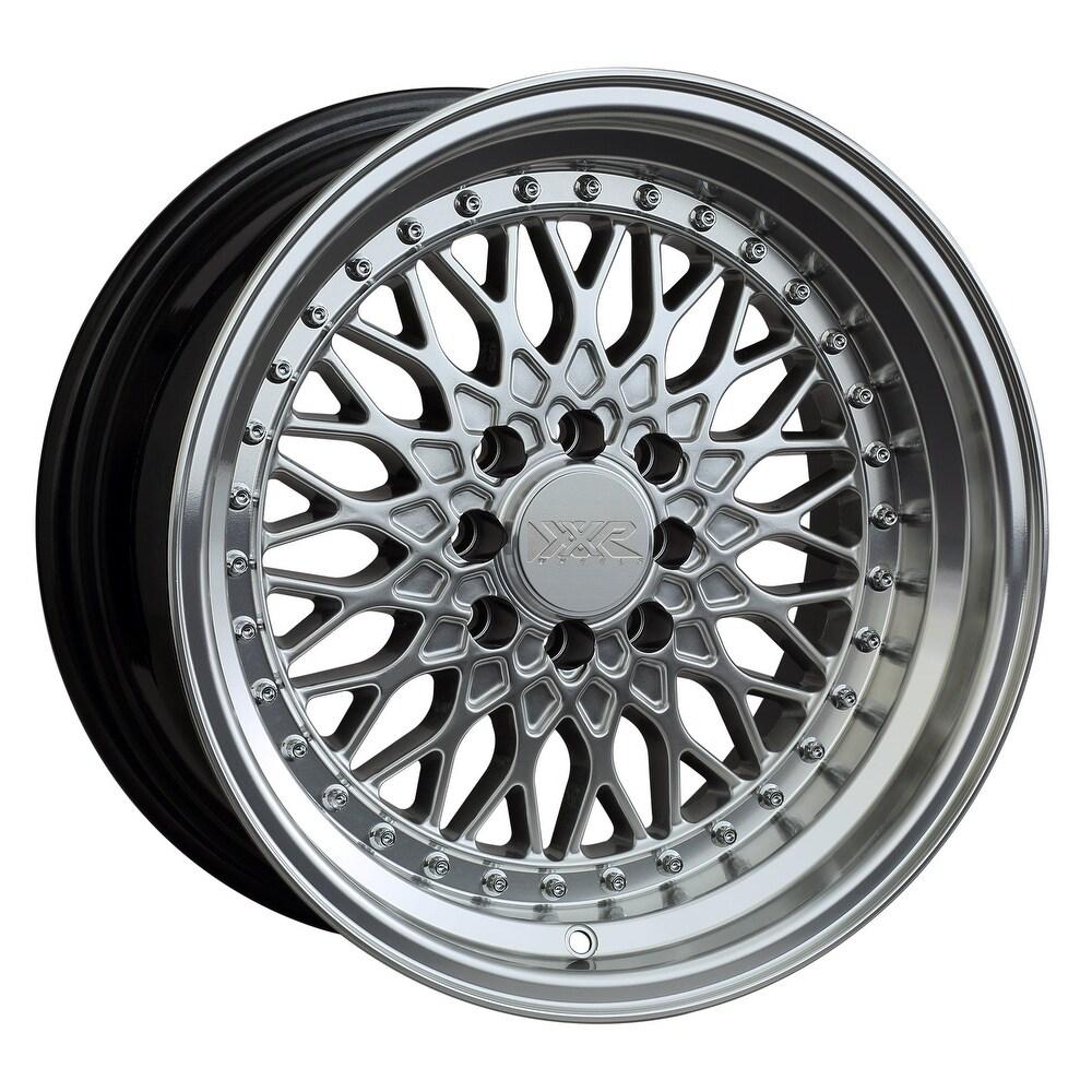 Xxr 536 15x8 4x100/4x114.3 0et 73.1mm hyper silver / ml wheel