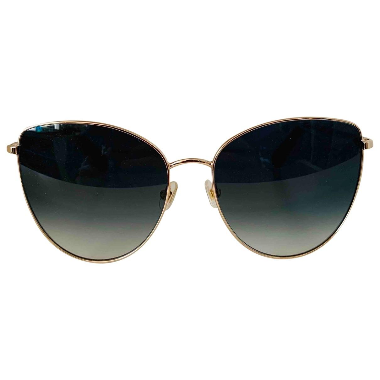 Kate Spade \N Green Metal Sunglasses for Women \N