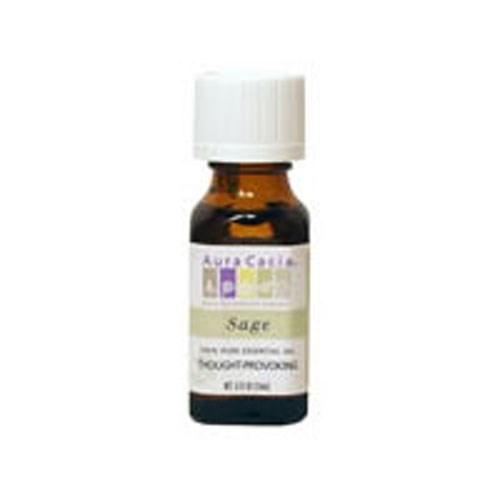 Essential Oil Sage (salvia officinalis) 0.5 Fl Oz by Aura Cacia
