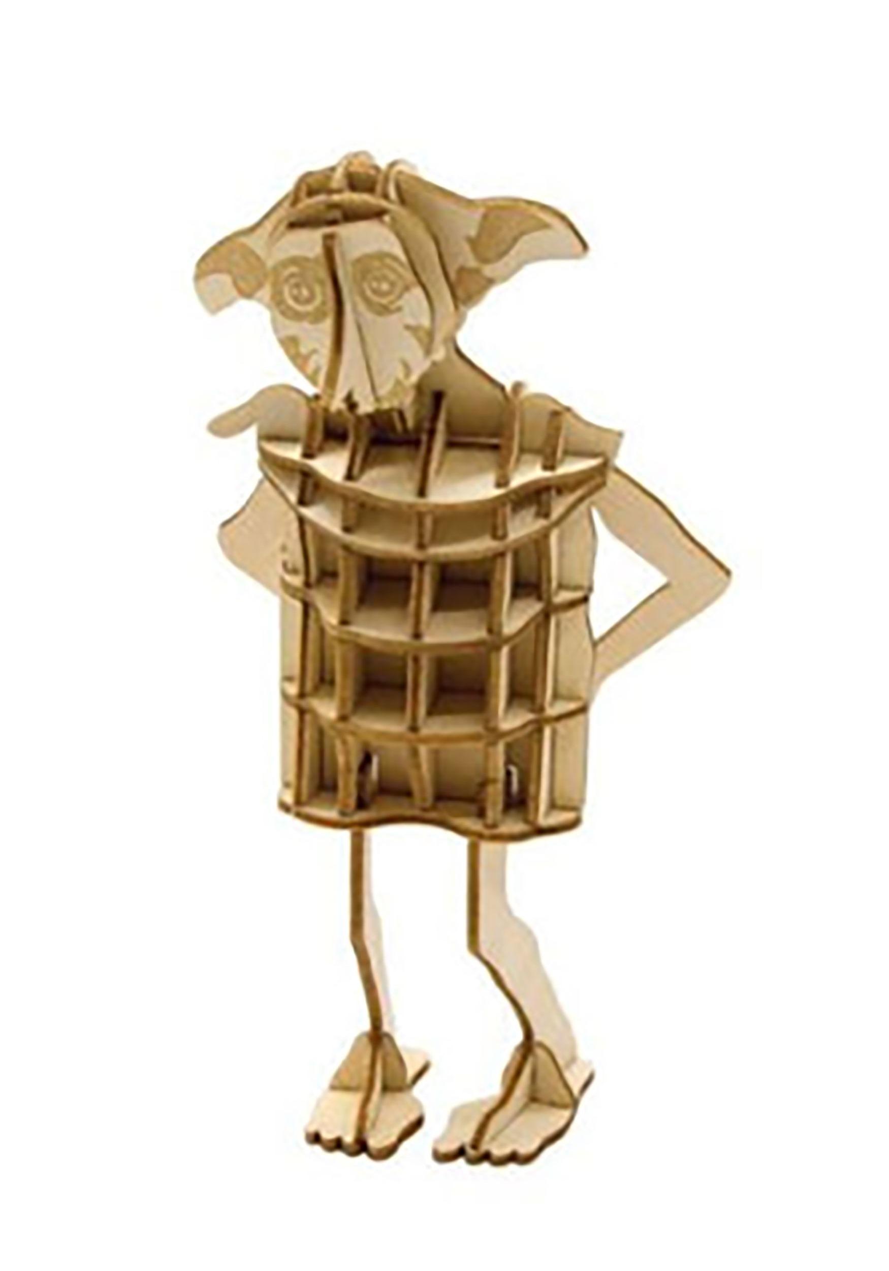 Harry Potter Dobby Free Elf 3D Wood Model & Book Kit