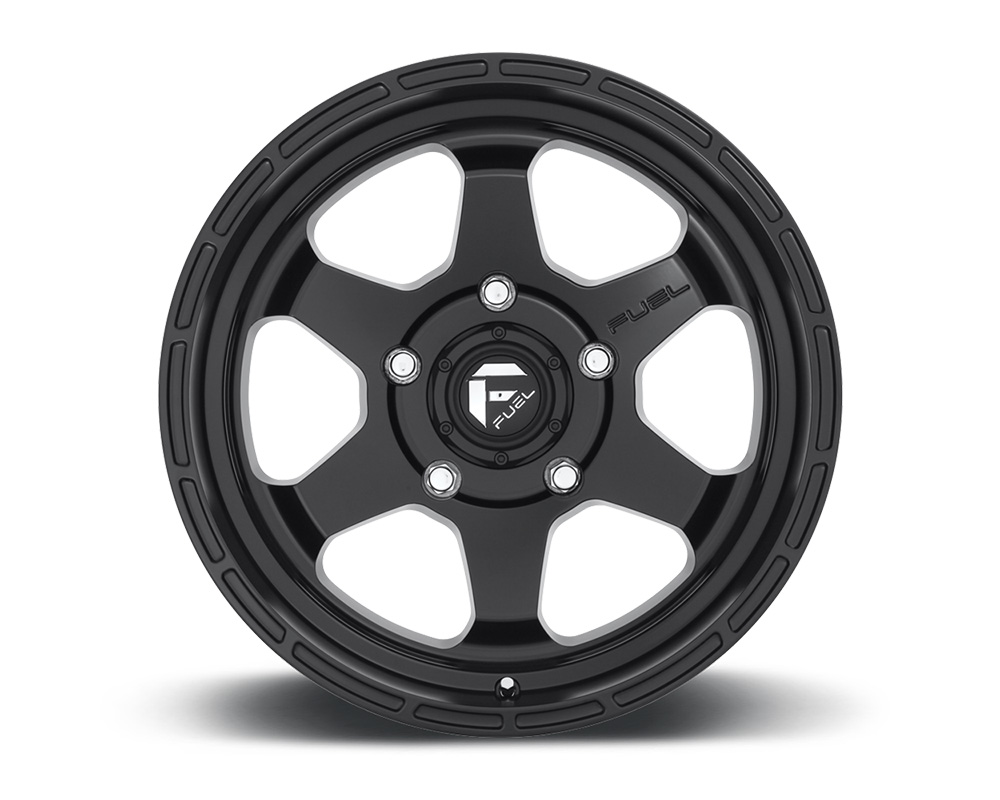 Fuel D664 Shok Matte Black 1-Piece Cast Wheel 18x9 5x127 -12mm