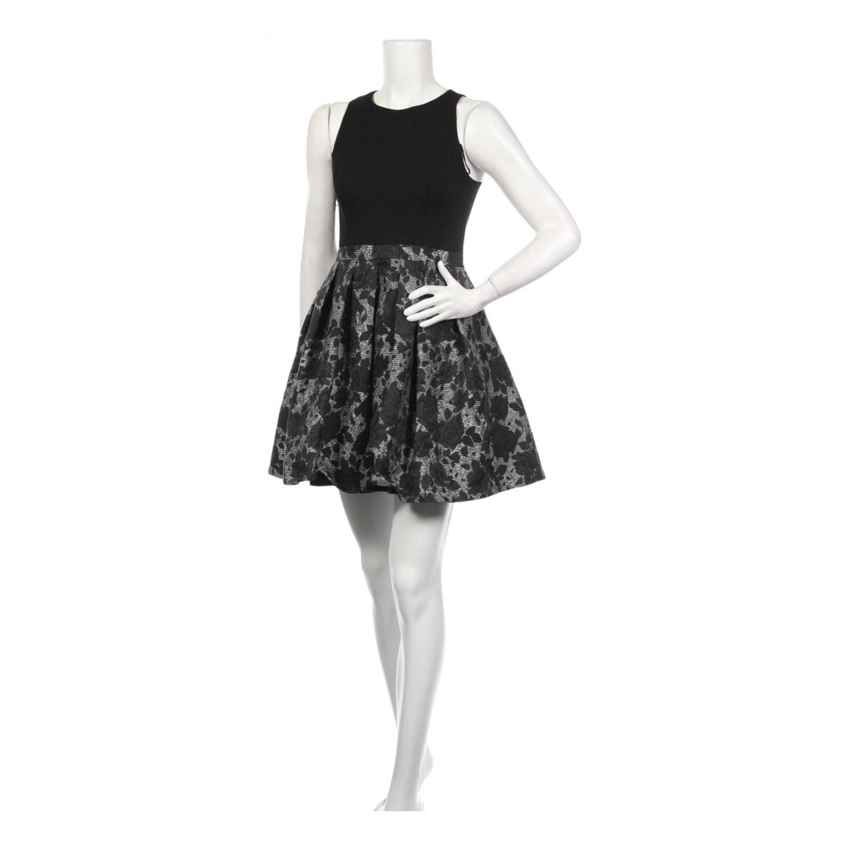 Aidan Mattox \N Kleid in  Schwarz Polyester