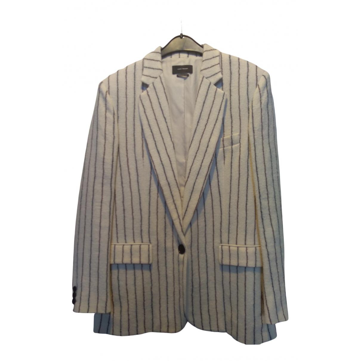 Isabel Marant N White Wool jacket for Women 38 FR