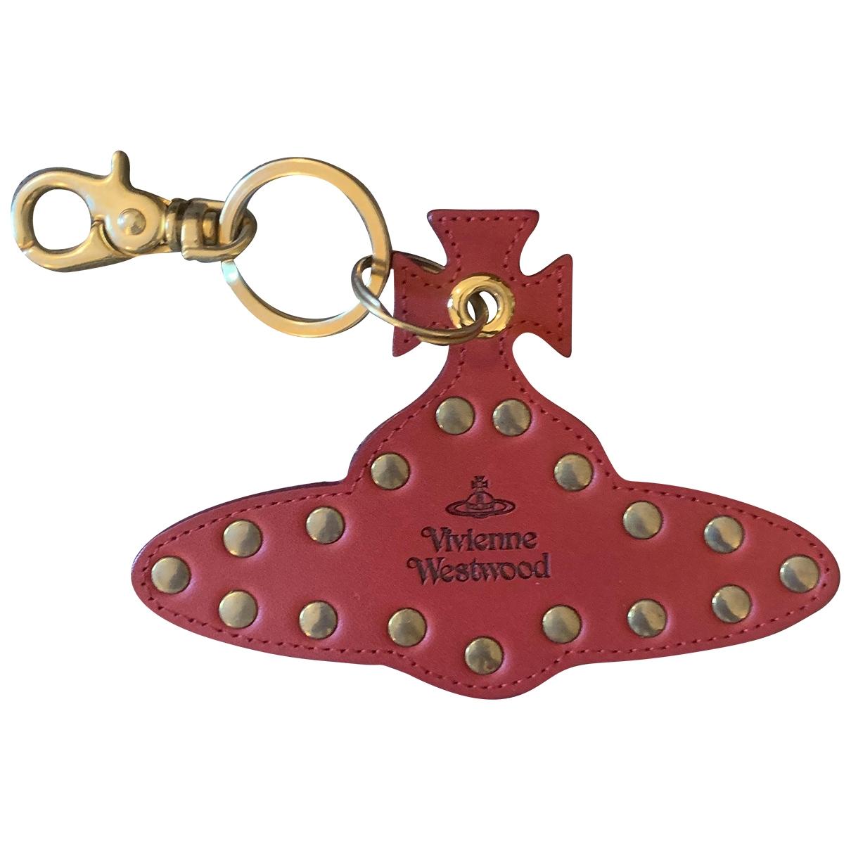 Vivienne Westwood \N Red Leather Small bag, wallet & cases for Men \N