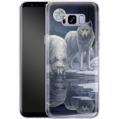 Samsung Galaxy S8 Plus Silikon Handyhuelle - Warriors of Winter von Lisa Parker