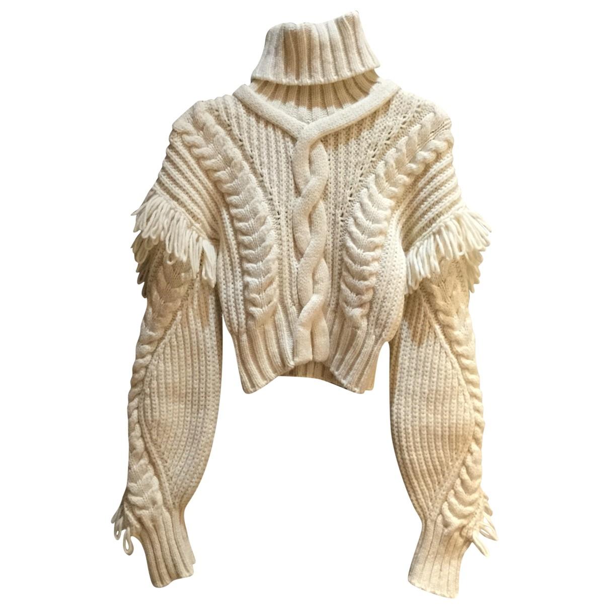 Off-white - Pull   pour femme en laine