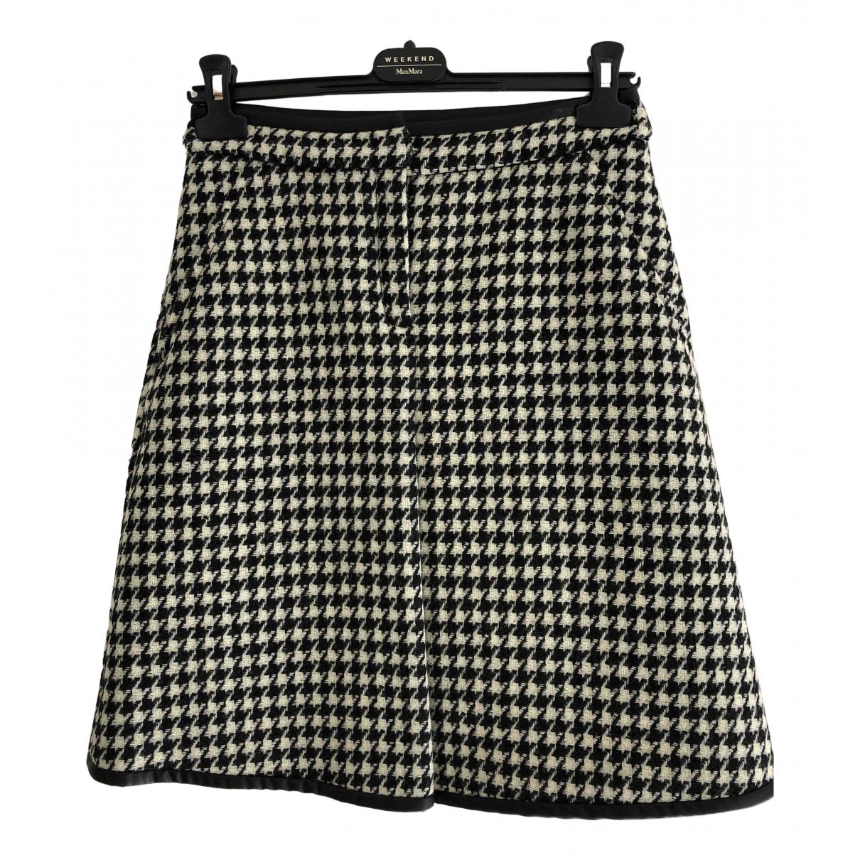 Max Mara Weekend N Black Wool skirt for Women 6 UK