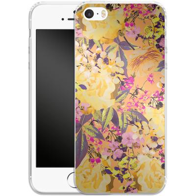 Apple iPhone 5s Silikon Handyhuelle - Symmetric Spring von Zala Farah
