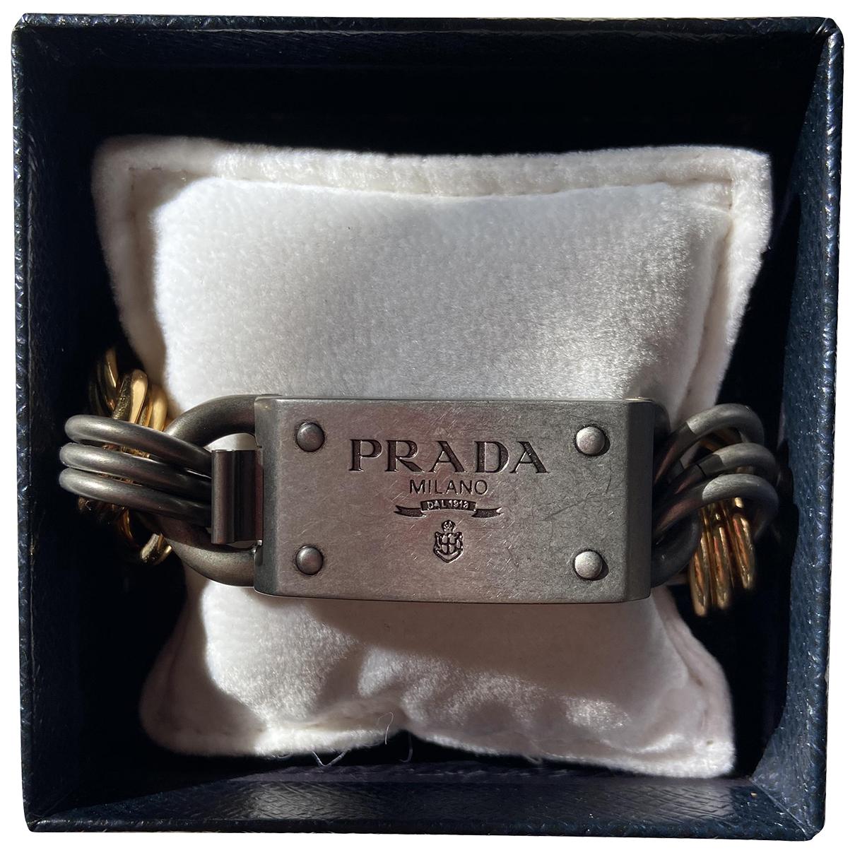 Prada \N Gold Chain bracelet for Women \N