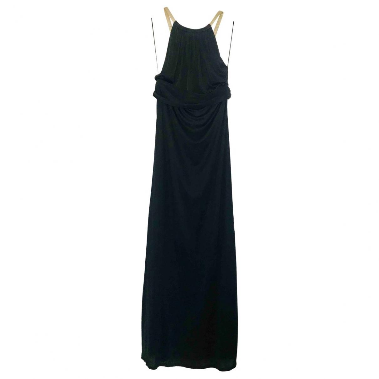 Gucci \N Kleid in  Schwarz Polyester