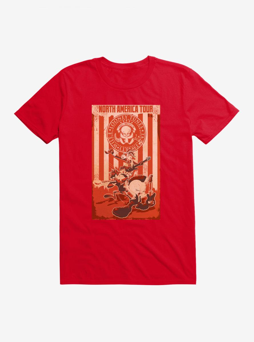 Looney Tunes North America Tour T-Shirt