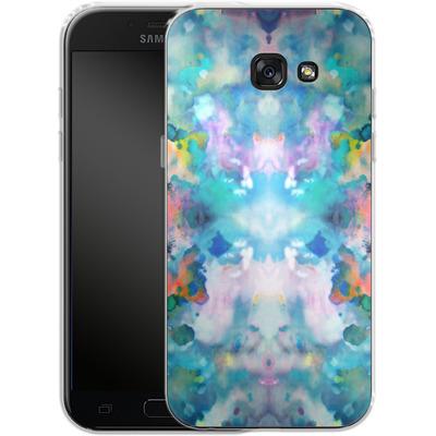 Samsung Galaxy A5 (2017) Silikon Handyhuelle - Paint Splatter von caseable Designs