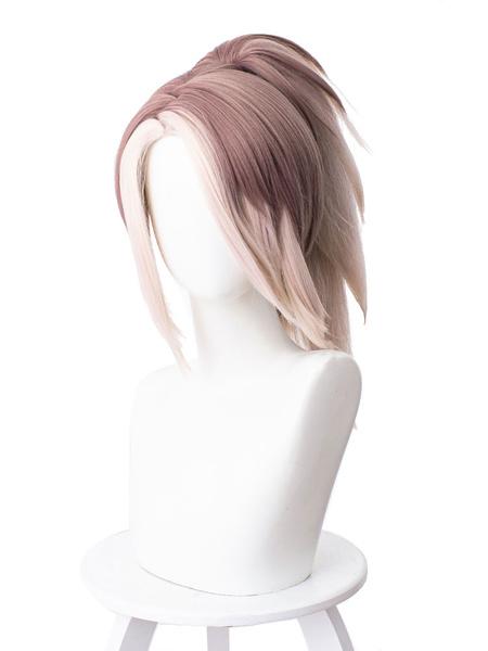 Milanoo League Of Legends LoL Akali Cosplay Wigs Halloween