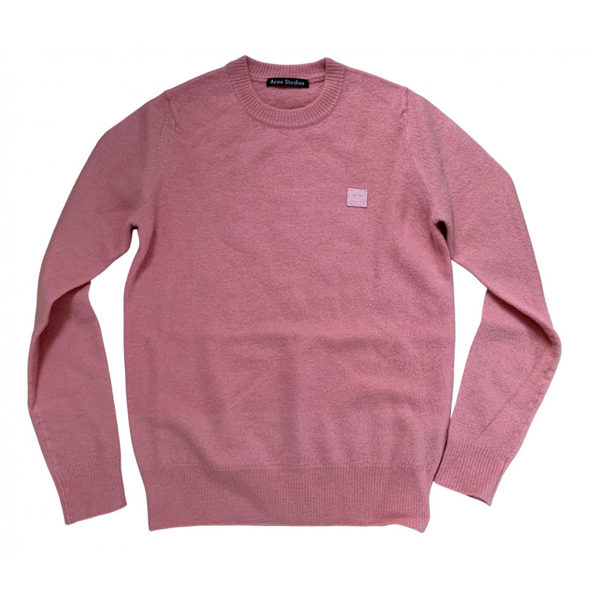 Acne Studios \N Pink Wool Knitwear for Women XXS International