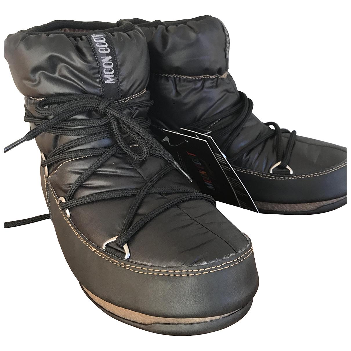 Moon Boot - Boots   pour femme - marron
