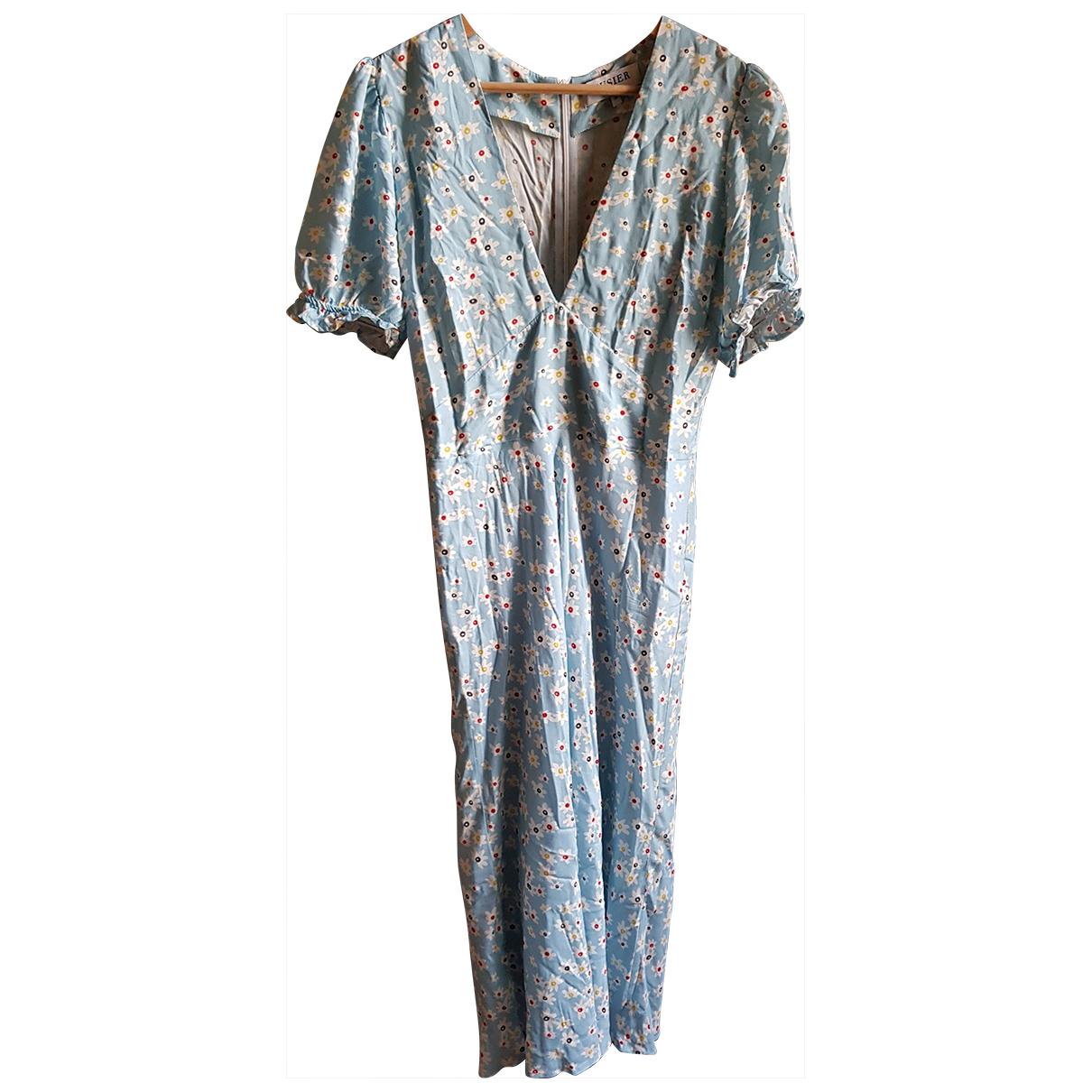 Musier \N Kleid in  Blau Viskose