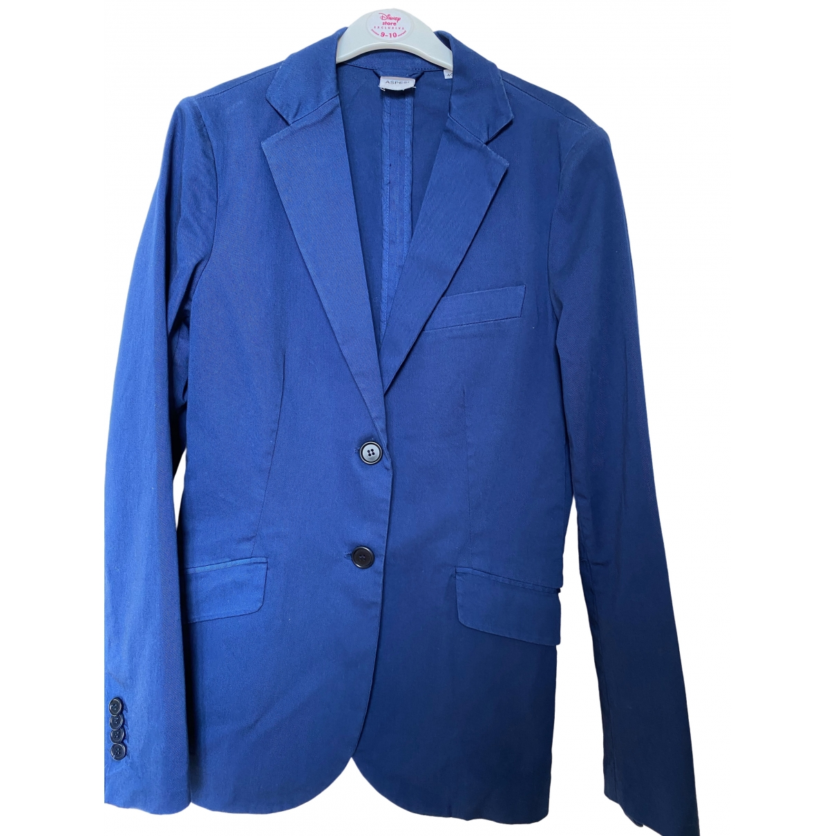 Aspesi \N Blue Cotton jacket for Women 40 IT
