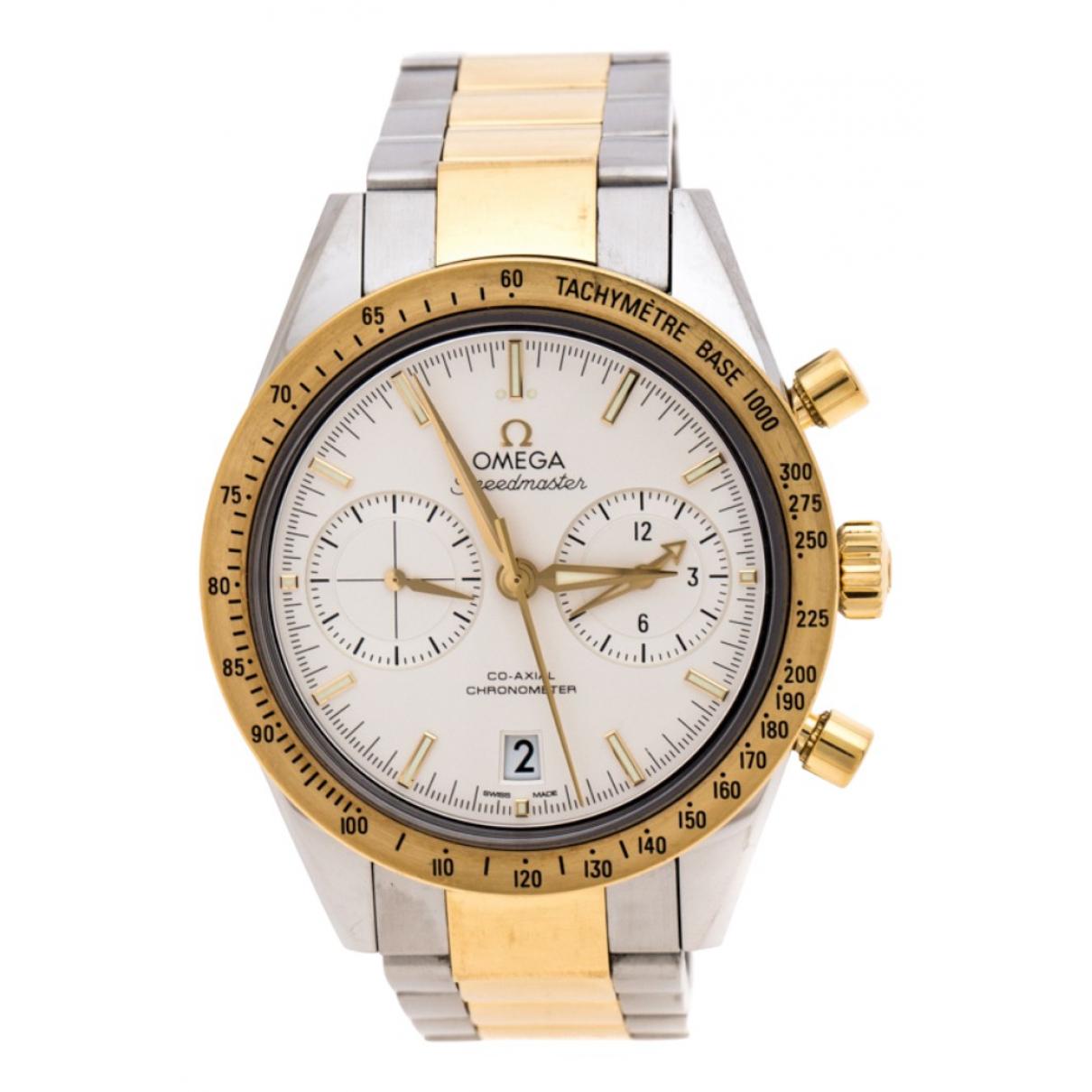 Omega Speedmaster Uhr in  Silber Gold und Stahl