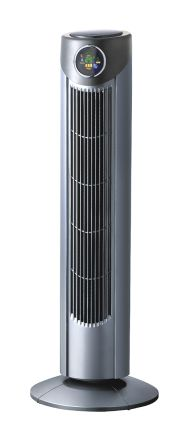 RS PRO Tower Fan 30.13m³/min 3 speed 230 V ac with plug: Type G - British 3-pin
