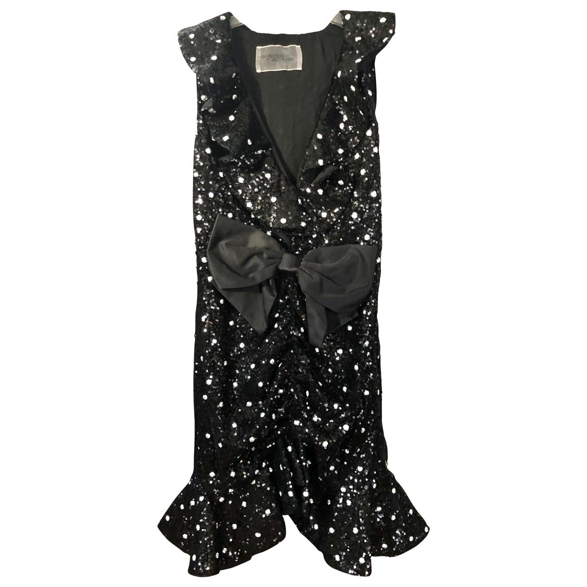 Giambattista Valli X H&m \N Black Glitter dress for Women M International