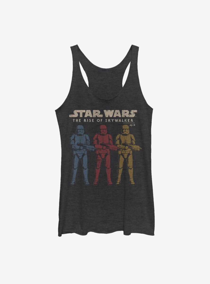 Star Wars Episode IX The Rise Of Skywalker Color Guards Womens Tank Top