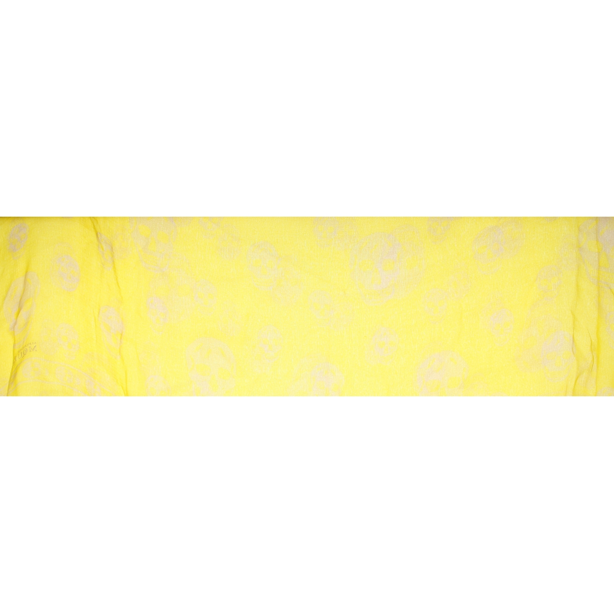 Alexander Mcqueen \N Yellow Silk scarf for Women \N