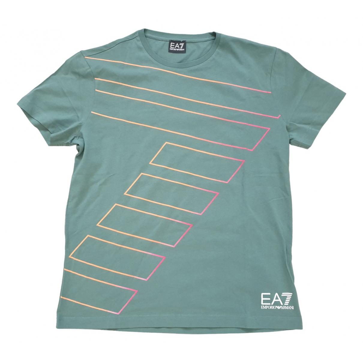 Emporio Armani \N Green Cotton T-shirts for Men L International