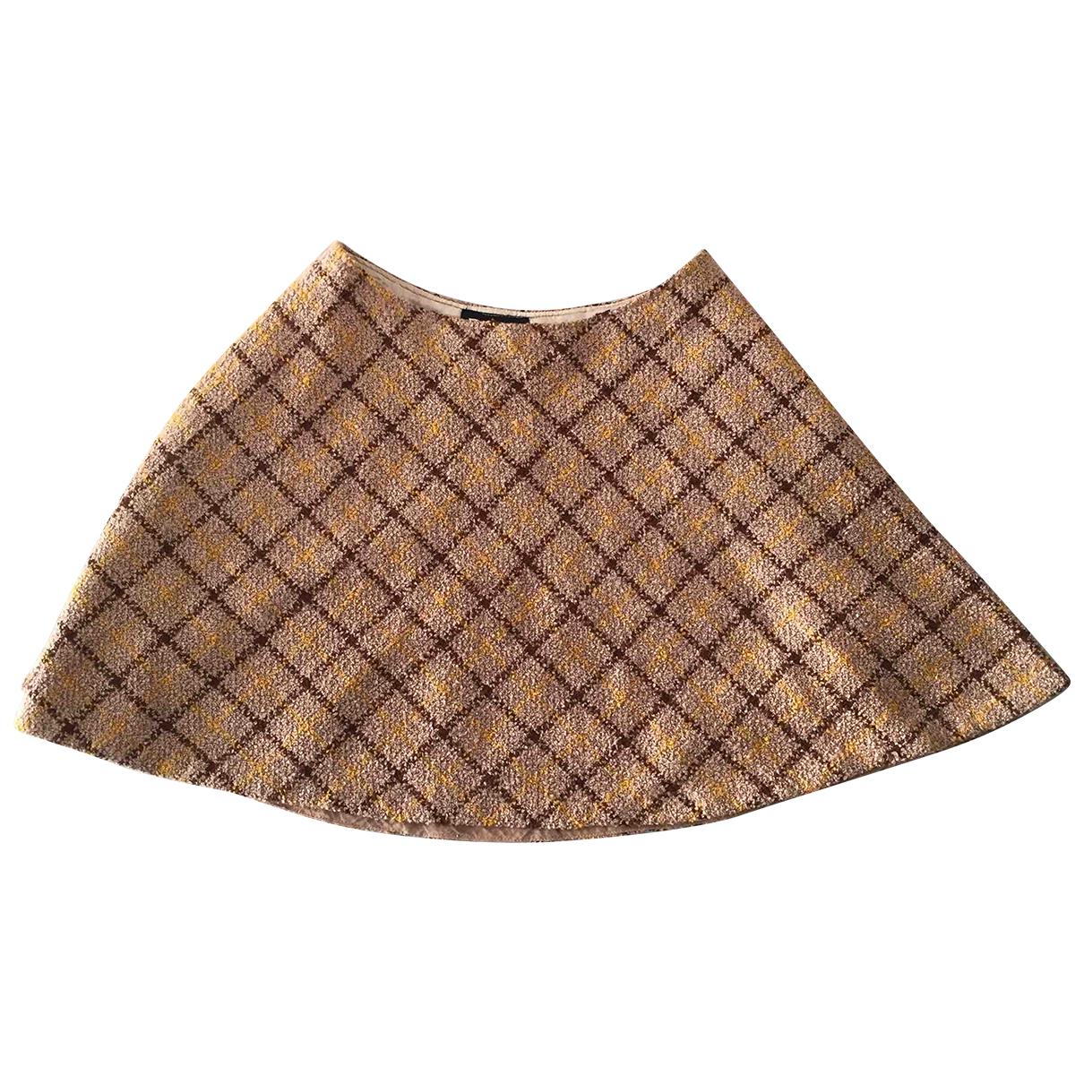 Mini falda de Lana D&g
