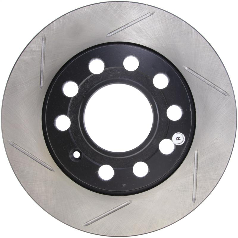 StopTech 126.33108SR Sport Slotted Brake Rotor; Rear Right Audi Rear Right