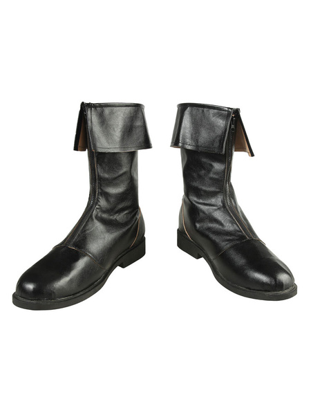 Milanoo Final Fantasy 7 Remake TCloud Strife Halloween Cosplay Shoes