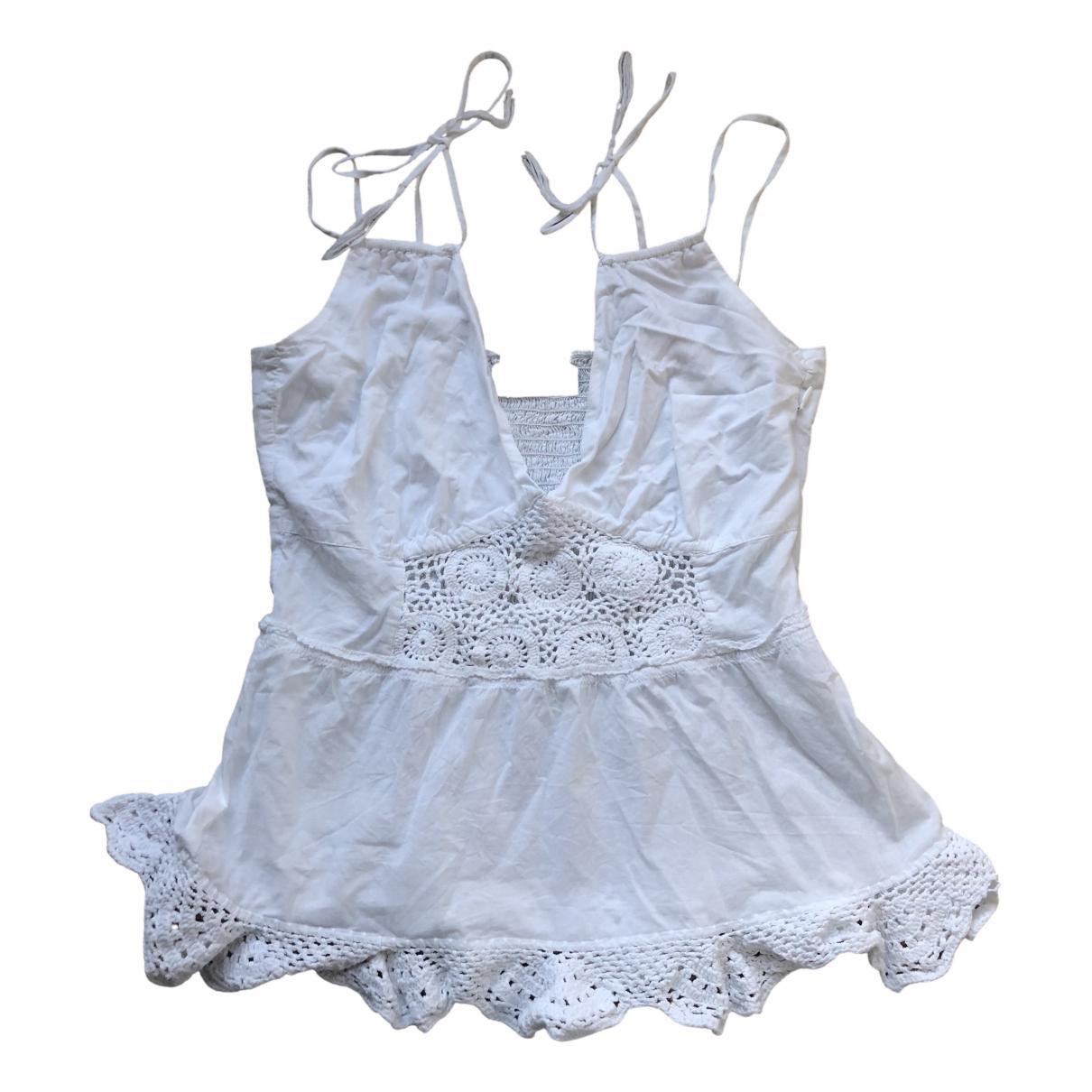 Day Birger & Mikkelsen - Top   pour femme en coton - blanc
