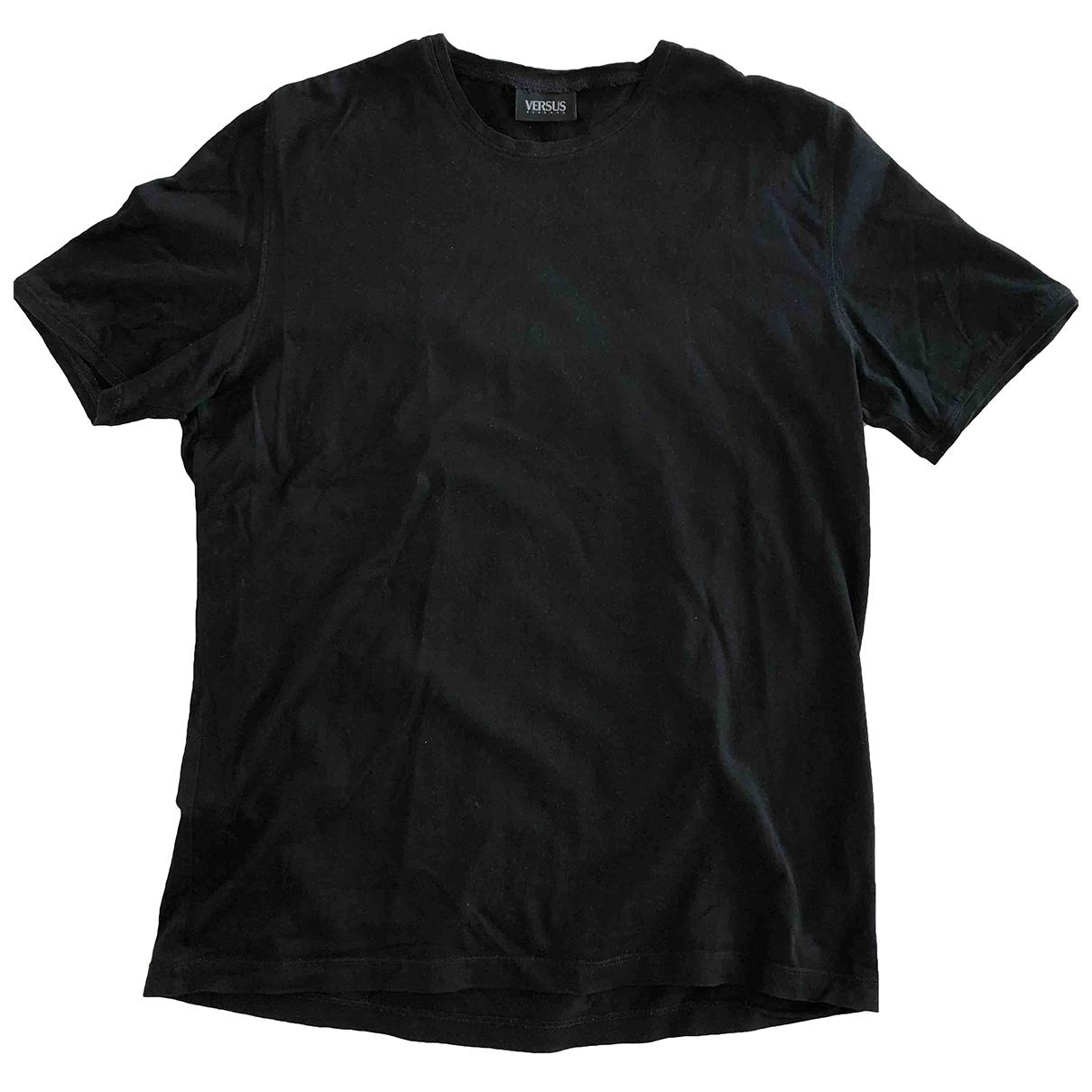 Versus - Tee shirts   pour homme en coton - noir
