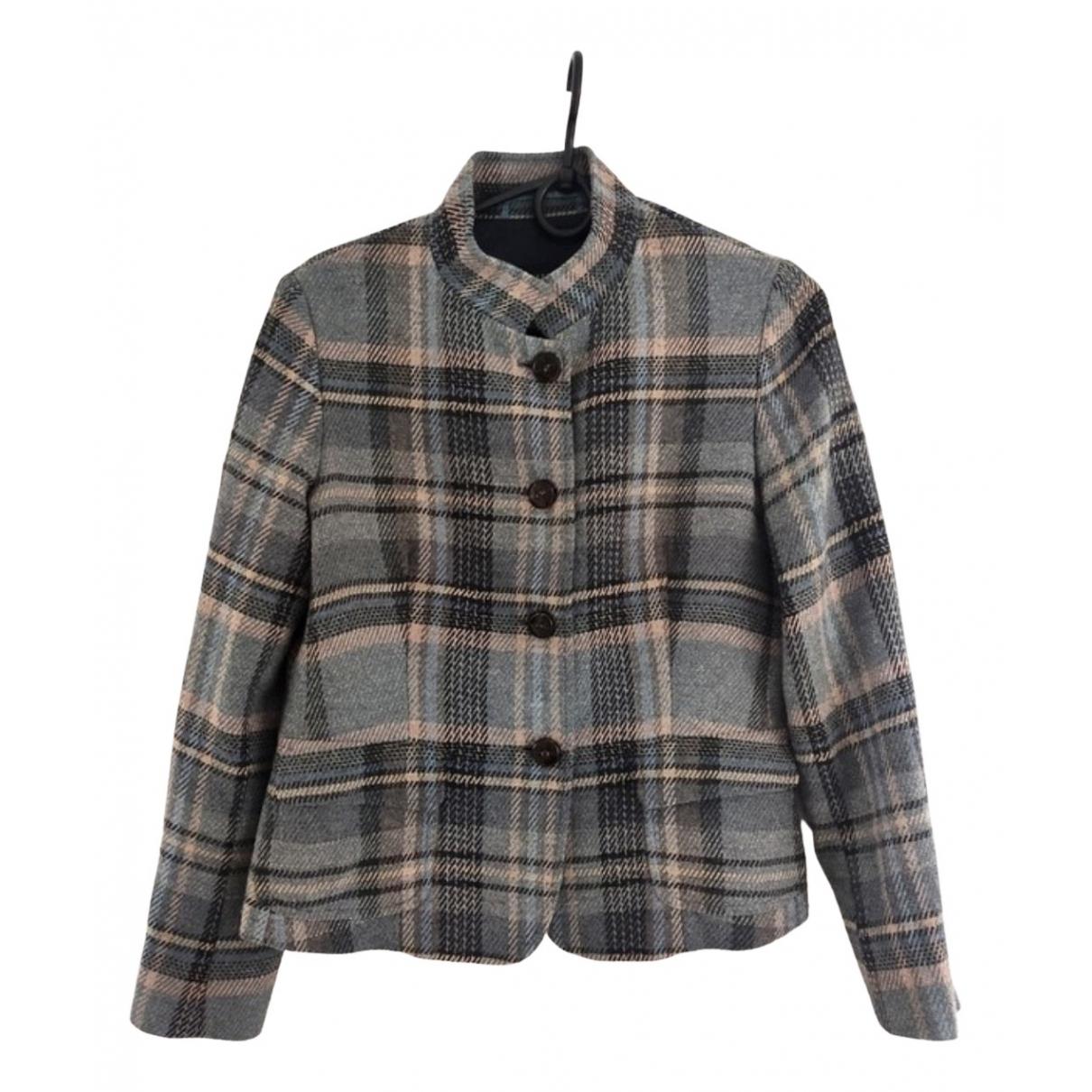 Max Mara Weekend \N Grey Wool jacket for Women 14 UK