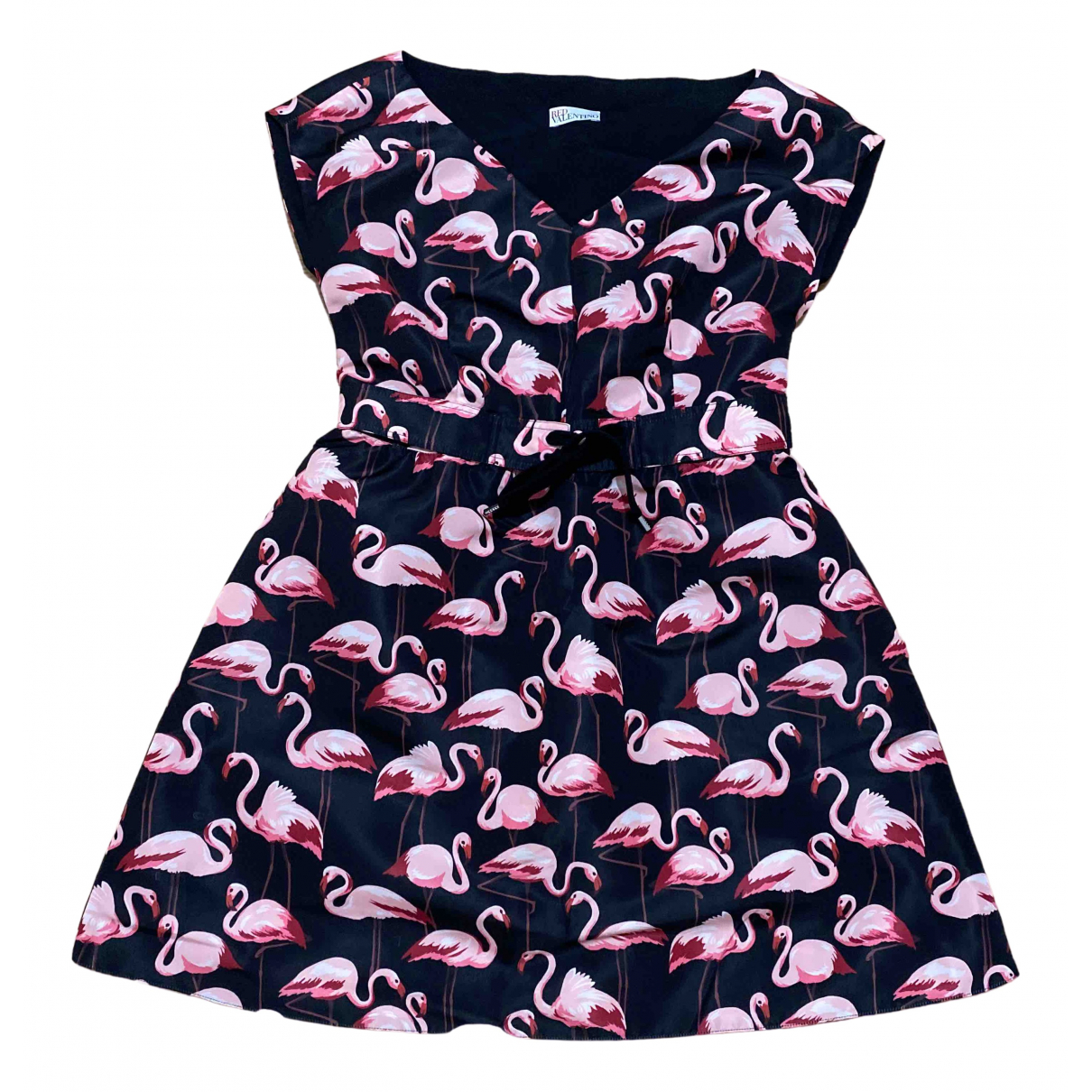 Red Valentino Garavani \N Black dress for Women 44 IT