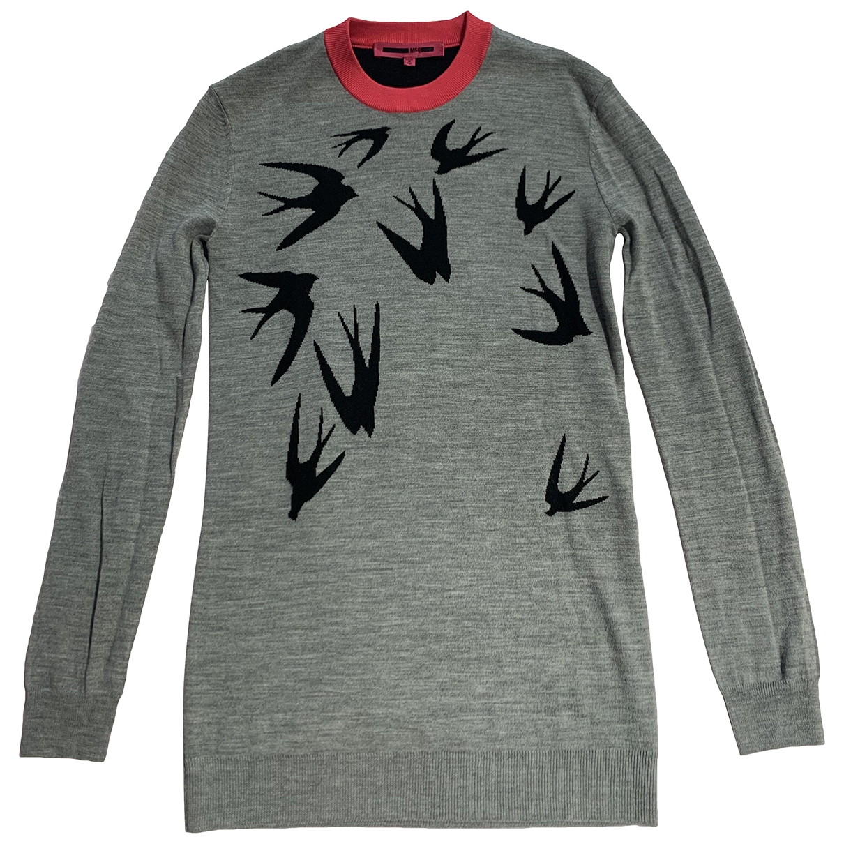 Mcq \N Pullover in  Grau Wolle