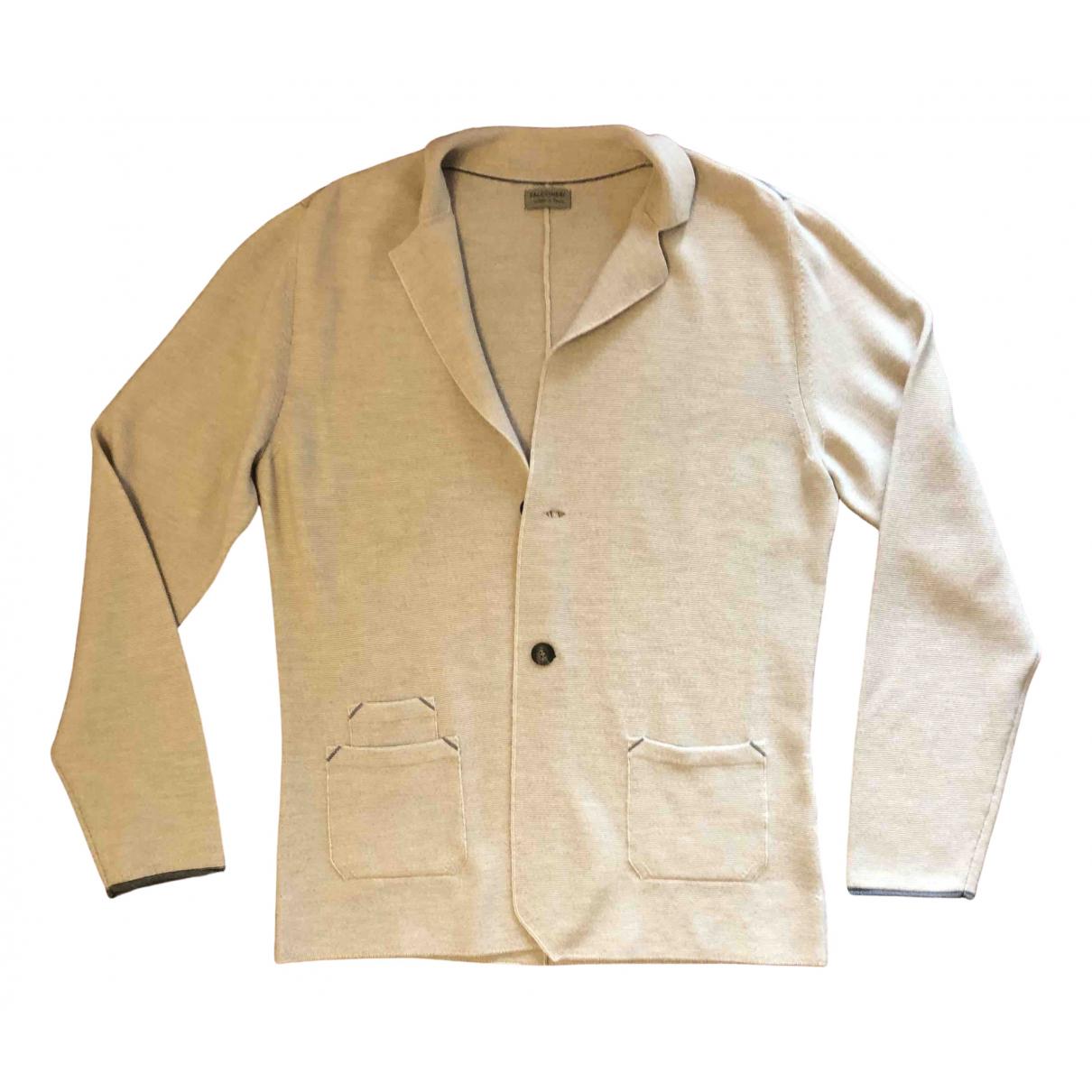 Falconeri \N Pullover.Westen.Sweatshirts  in  Beige Wolle