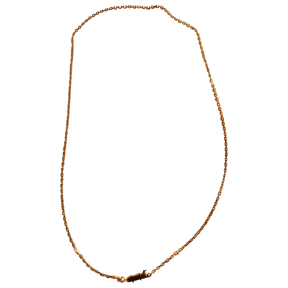 Cartier \N Yellow Yellow gold necklace for Women \N