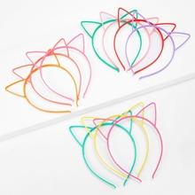 Toddler Girls Cat Ear Headband 10pcs