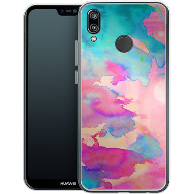 Huawei P20 Lite Silikon Handyhuelle - Dawn Light von Amy Sia