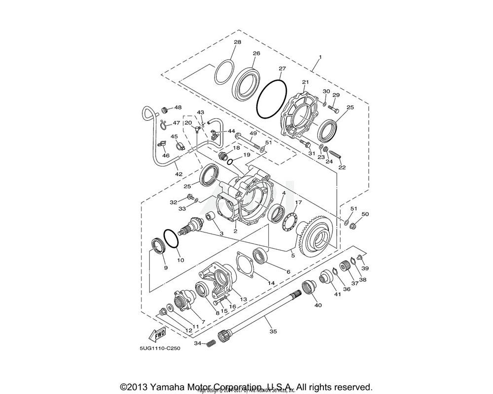 Yamaha OEM 5UG-15371-00-00 BREATHER
